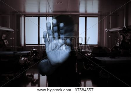 Hand Of The Patient In A Mental Health Clinic