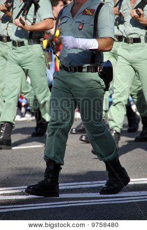 Legionarios Marching
