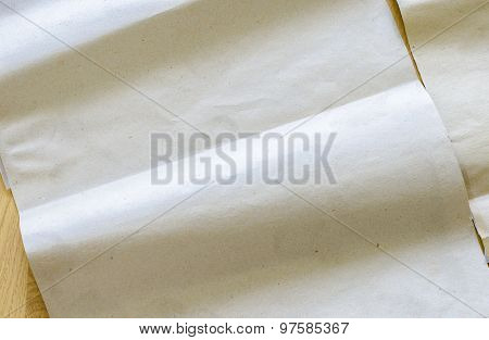 Curving Brown Paper Texture,eco