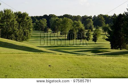 Beautiful Golf Course Scenery