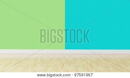 Green Blue Pastel Color Interior Background