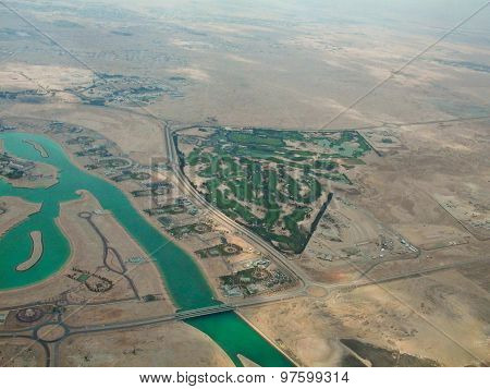 Aerial View Of Qatar