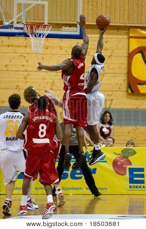 HEIDELBERG, Germany - November 16: Basketball - USC Heidelberg vs. Bayern M�¼nchen, November 16, 2008 in Heidelberg, Germany.
