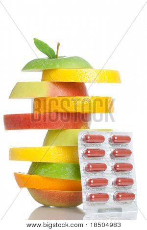 Healthy Fruit plus capsules