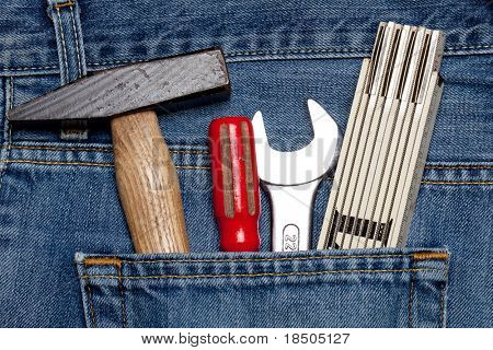Toolkit in a pocket