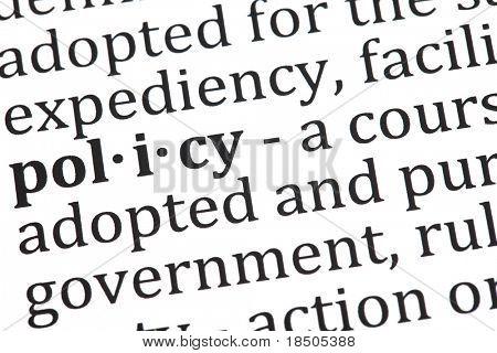 Definition der Politik