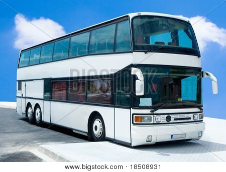 Doubledecker tour bus