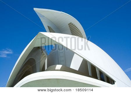Palau de Les Arts Reina Sofia Multi hall auditorium building Valencia, Spain