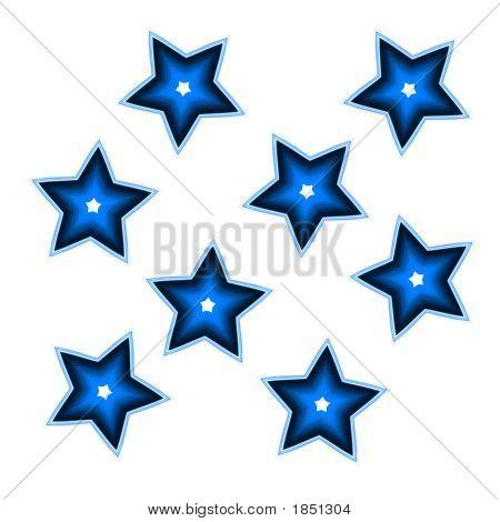 Estrellas azules - Imagui