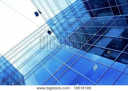 Unterseite Blick auf neue Wolkenkratzer-Business-center