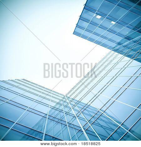 edificio vista de cristal