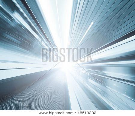 High-Speed beweglichen Rolltreppe