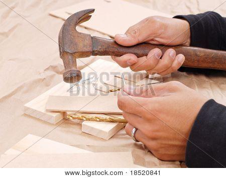 Wood Shop Art Project