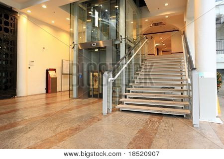 lift and stair