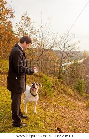 Airing My Bulldog