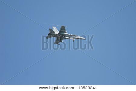 F-18 fighter