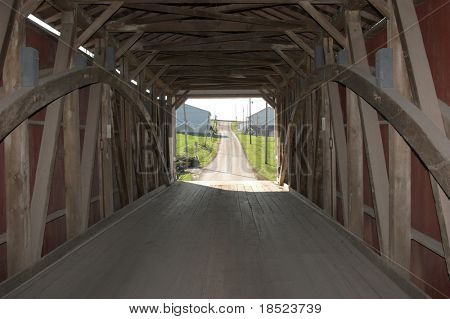 Covered bridge, Lancaster county Pennsylvania