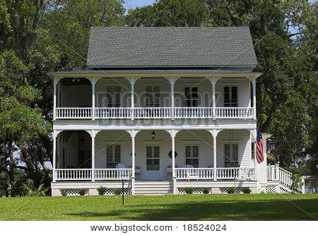 Südliche Föderale Stil Zuhause, äußere Ansicht
