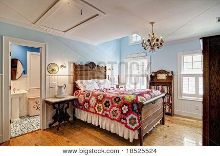 dormitorio de estilo clásico elegante
