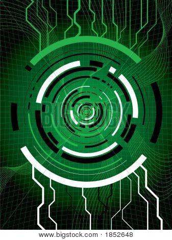 Technigrid grün