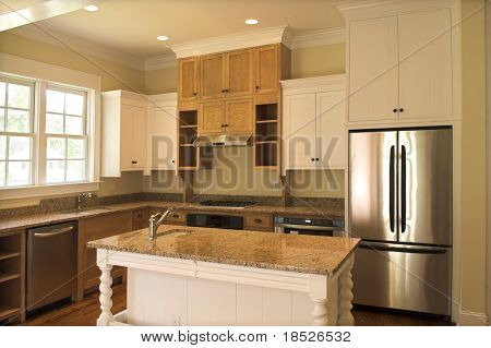 beautiful kitchen with granite