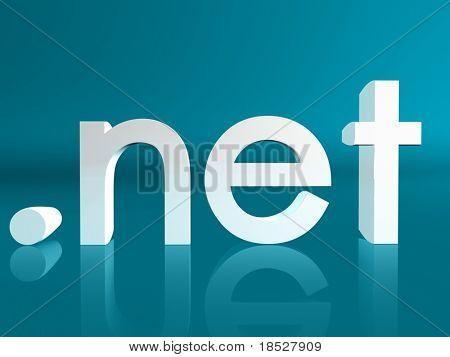 Dirección de nombre de dominio del sitio web Net no