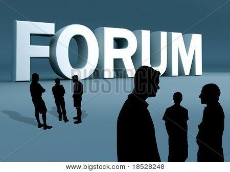 Groepsdiscussie forum