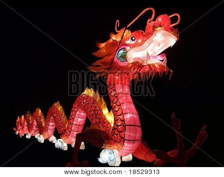 Dragon Lantern Chinese New Year Festival