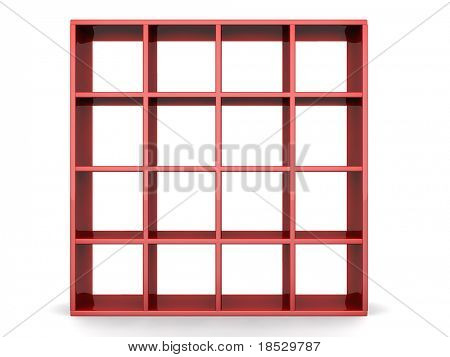 Photo frame stand display image or artwork in white space 3d illustration