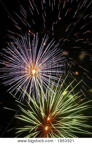 Lasar Beam Firework