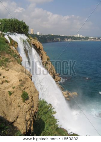 Sea Waterfall