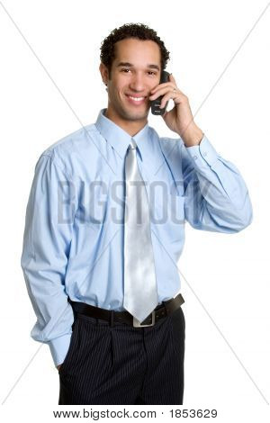 Phone Businessman