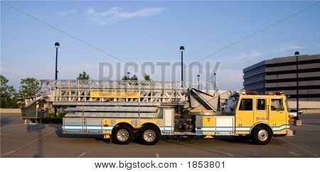 Ladder Truck Side