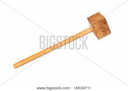 Martillo de madera de la carne