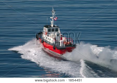 Pilot Boat In Vancouver, British Columbia