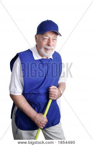 Senior Worker - Broom Jockey