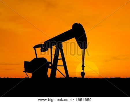 Silhouette Oil Pump
