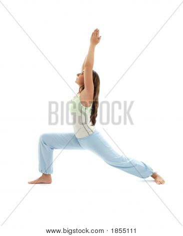 Virabhadrasana Warrior Pose