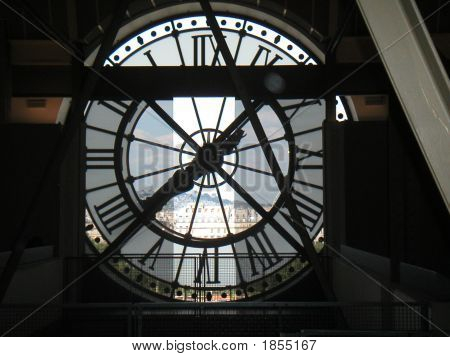 France Paris D'Orsay Clock