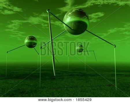 Alien Ball Tripods