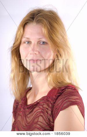 Portrait Of A Blondie
