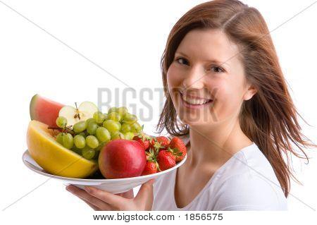 Möchten Sie einige Früchte?
