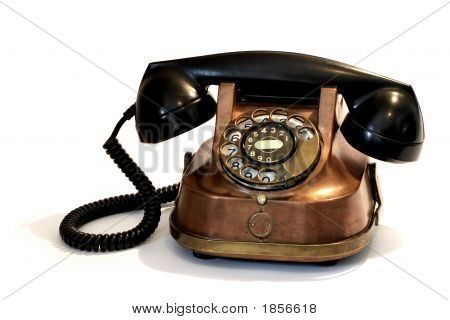 Vintage Phone with dial