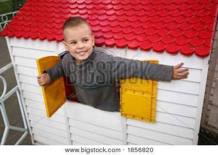 Boy In The Toy House