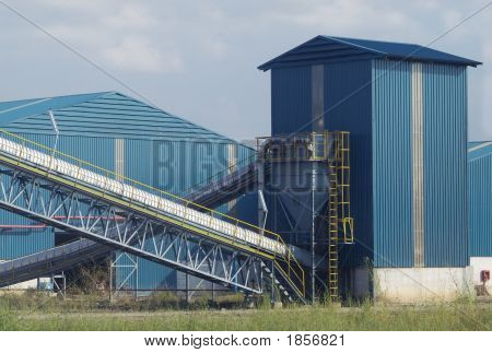 Blue Warehouses