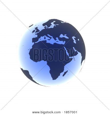 Soft Blue Africa