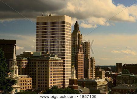 Cidade de arranha-céus