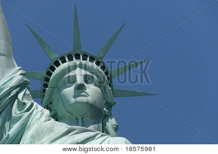 The Statue of Liberty Enlightening the World was a gift of friendship from the people of France to the people of the United States and is a universal symbol of freedom and democracy.
