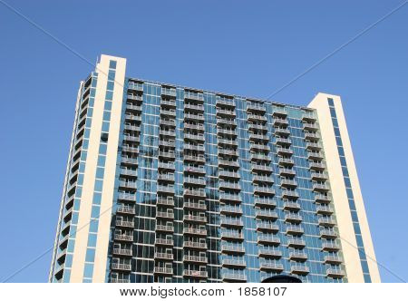 Blue Glass Apartments