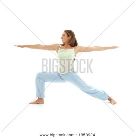 Virabhadrasana Warrior Pose #4